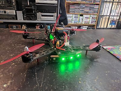 emax 250 quadcopter plus batteries and fpv camera