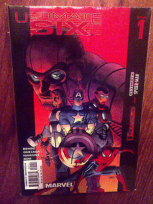 Ultimate Six #1-7 VF/NM. Signed by Joe Quesada!!
