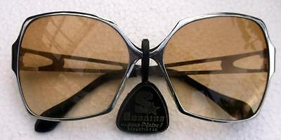 Vintage Sunaire Retro 1970's Sunglasses with Labels. Unused New Old Stock !