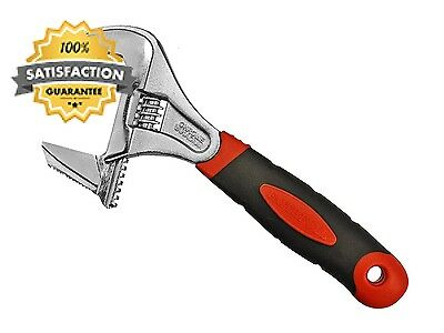 Faithfull AS200W46 Wide Mouth Adjustable Spanner