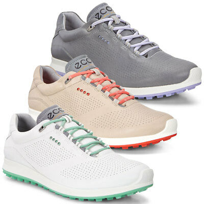 Ecco 2017 Womens Biom Hybrid 2 Durable Leather Spikeless Breathable Golf Shoes