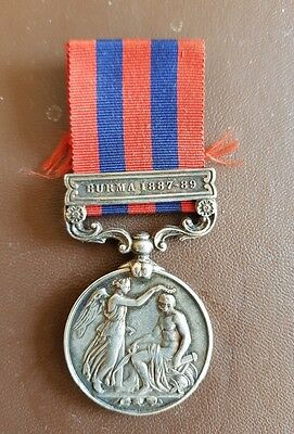 India General Service Medal Leicestershire Regiment