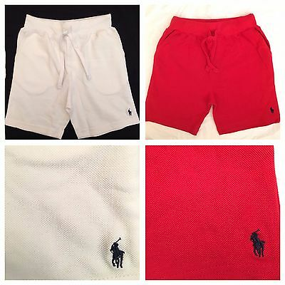 Polo Ralph Lauren Cotton Atlantic Shorts For Boys Kids Size's From 2T -- 20 Year