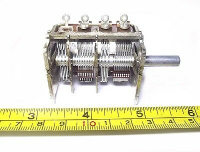 [BUY 5 FREE 1] ALPS Variable Capacitor FM AM Crystal Radio Antenna Tuner Balun
