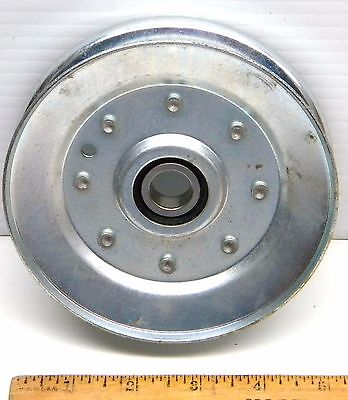 """V-Belt 5 Inch Diameter Idler Pulley With Ball Bearing 5/8"""" Id"""