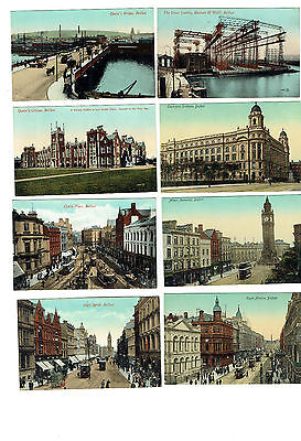 Antique Postcards Belfast Early 20th Century Harland & Wolff