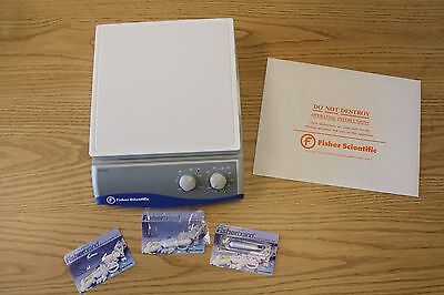 Fischer Scientific Hotplate Stirrer and Magnetic Stirring Bar, GREAT condition