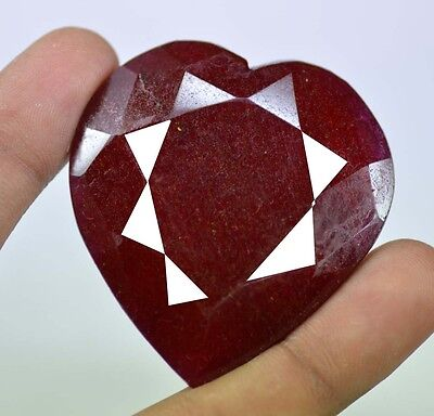 Awesome Deal 316.80 Ct Certified African Real Corundum Red Ruby Gemstone~CD5815