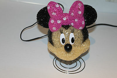 Disney EVA Minnie Mouse Table Lamp Night Light EC