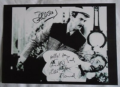 Scene from Fawlty Towers A4 Print - Signed by John Cleese & Andrew Sachs