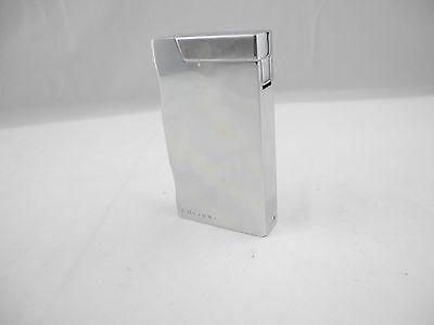 """Colibri Torch Flame """"ice"""" Lighter Chrome New"""