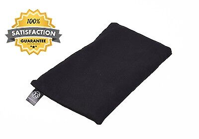 Yoga Studio Scented Lavender Linseed Eye Pillows Black