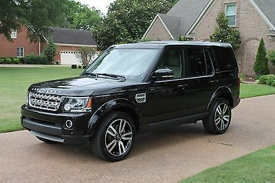 """2014 Land Rover LR4 LUX 7 Passenger One Owner Perfect Carfax 20"""" Wheels Lux Pkg Michelin Tires MSRP New $68173"""