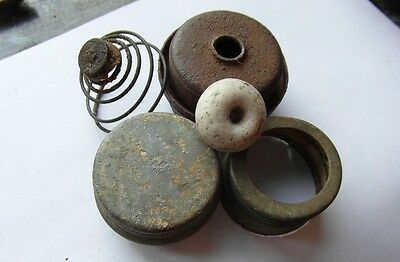 Ww2 German M24 Potato Masher Parts War Relic