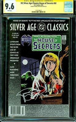 DC Silver Age Classics House of Secrets 92 CGC SS 9.6 signed by Bernie Wrightson