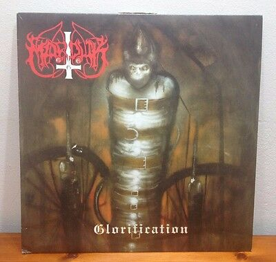"MARDUK ""Glorification"" mini LP vinyl first press 1996 Osmose rare black metal EP"