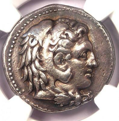 Philip III AR Tetradrachm Coin 323-317 BC Ancient Macedon - Certified NGC XF!
