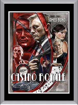 Casino Royale A1 To A4 Size Poster Prints