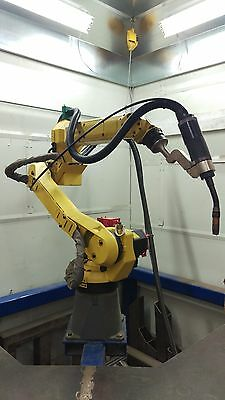 Fanuc Arcmate 100iC with R30i-A controller Fronius Welder