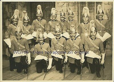 Vint rp British Army Life Guards Victorian / Edwardian? Horse Guards Cavalry