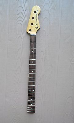 Vintage Neck Rosewood Board For Fender P Bass Precision Bass