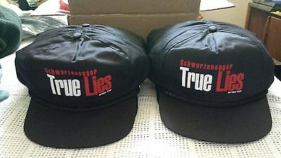 (1) True Lies Vintage 1994 Movie Promo * 1 Hat Schwarzenegger New Old Stock Rare