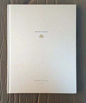Maybach Going Places Book Edition IV 04 Maybach Lifestyle Literature Brochure