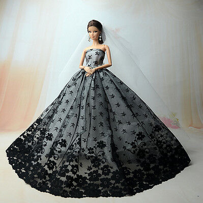 Doll c71 Fashion Royalty Princess Dress//Clothes//Gown+veil For 11.5 in