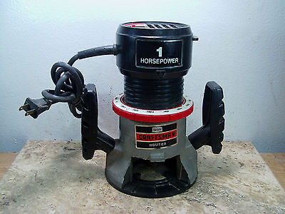 """Pre-owned & Tested Sears/Craftsman #315.17550 1HP 1/4"""" Router"""