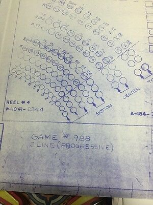 Bally Manufacturing #988 Contact Plate Wiring Schematic
