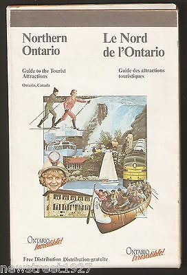 1988 Northern Ontario Guide to Tourist Attractions and Road Map