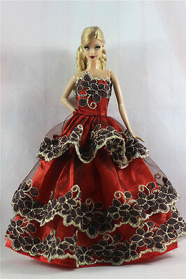 Fashion Princess Party Dress/Evening Clothes/Gown For 11.5in.Doll S360