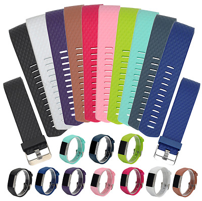 Silicone Replacement Band For Fitbit Charge 2 Wristband Watch Strap