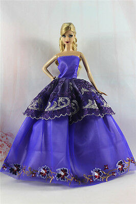 Fashion Princess Party Dress/Evening Clothes/Gown For 11.5in.Doll S351U