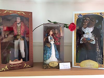Disney Limited Edition Beauty And The Beast Doll Sets