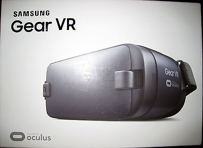 NEW SAMSUNG SM-R323 GEAR VR HEADSET OCULUS BLUE BLACK SEALED BOX a2
