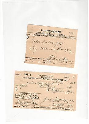 vintage prohibition prescription