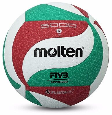 Volleyball Ball Indoor Outdoor Volley Game Official Size V5M5000 Molten FIVB