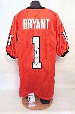 Dez Bryant Signed Autographed Oklahoma State Orange XL Football Jersey G14916