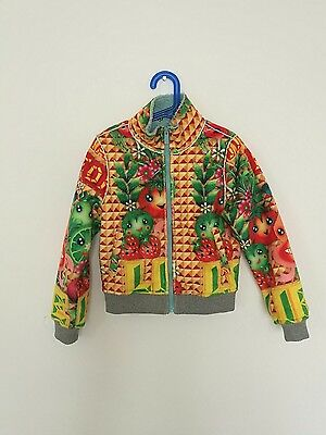 Custo Growing Kids Girls Bomber Jacket Size 8 Years Old In Mint Condition