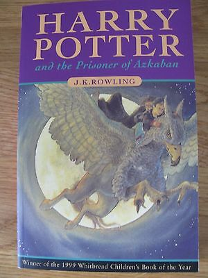 first edition first print harry potter and the prisoner of azkaban
