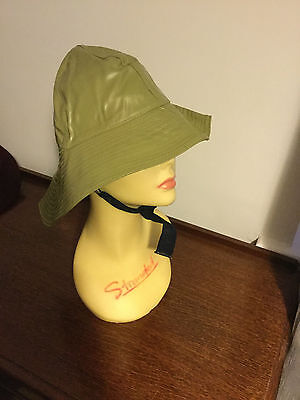 Original WW2 Military Southwest Foul Weather Rain Hat Canadian Submarine USN