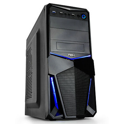 Gamer PC Intel Core i5-6400 8GB 256GB SSD HDMI USB 3.0