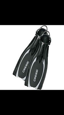 Cressi REACTION Fins With Bungee Straps BE105538