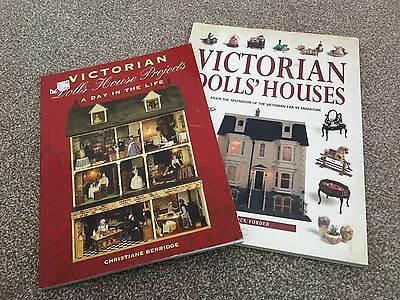 Victorian Dolls House Books X 2