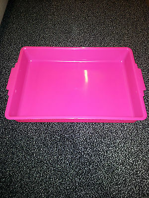 Kitten Small  Litter Tray Loo/Toilet Various Colours 5011 Pink