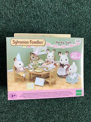 Sylvanian Families Party Set - Brand New - Box Unopened