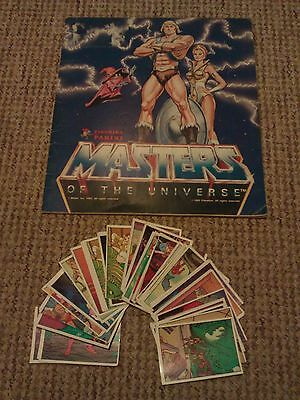 He-Man, Masters of the Universe, sticker album with stickers! - 80s (Rare)