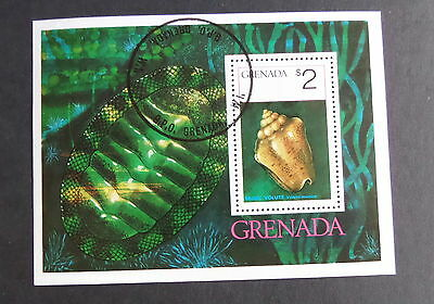 Grenada 1975 Sea shells  MS728 MS miniature sheet fine used