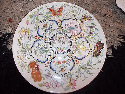Royal Worcester Limited Edition Exotic Butterflies Plate